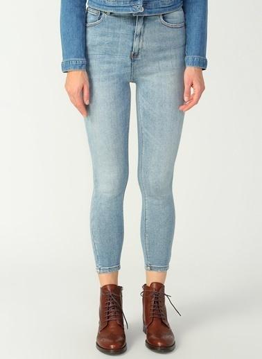 Only Only Açık Mavi Denim Pantolon Mavi